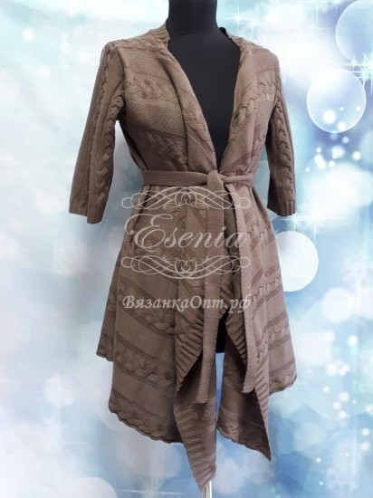 Кардиган женский с поясом