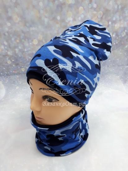 Комплект шапка\снуд