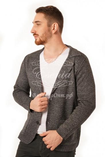 Пиджак мужской вязаный