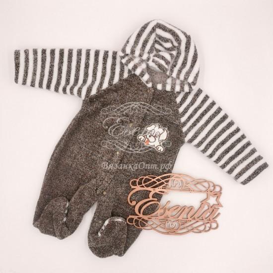 Комбинезон с капюшоном для малышей