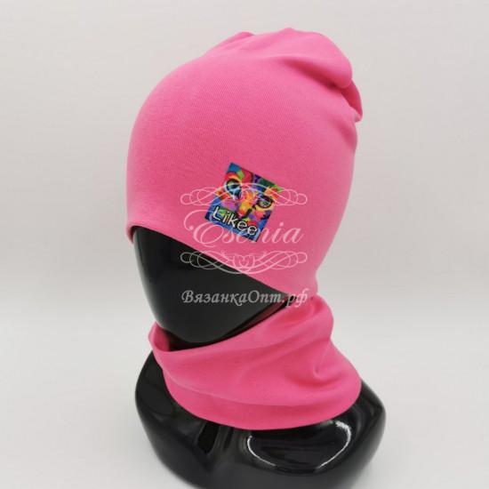 Комплект(шапка+снуд)